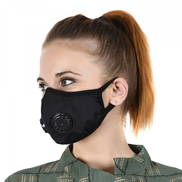 Military Grade N99 Mask With Two Valves