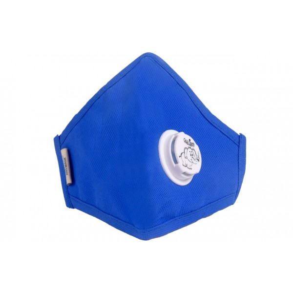 Smog Guard N95 Kids Mask With One Valve (Blue)