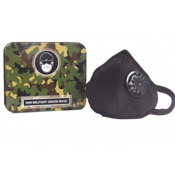 Military Grade N99 Mask With One Valve (Kids)